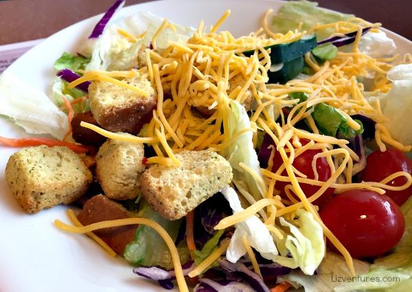 Denny's house salad