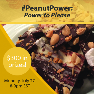 #PeanutPower Power to Please Twitter Party