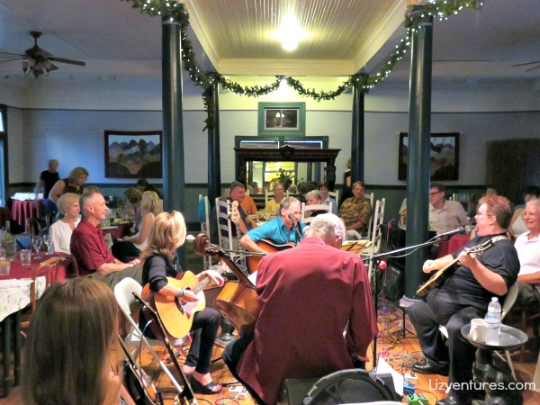 Songwriters-in-the-Round - Balsam Mountain Inn NC