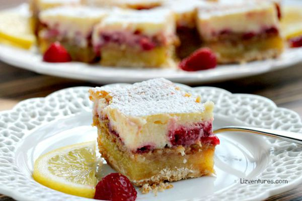 Strawberry Lemon Cheesecake Bars (Krusteaz)