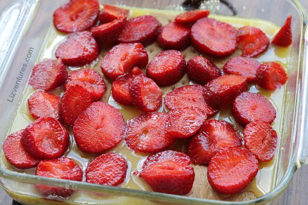 recipe - strawberry lemon cheesecake bars
