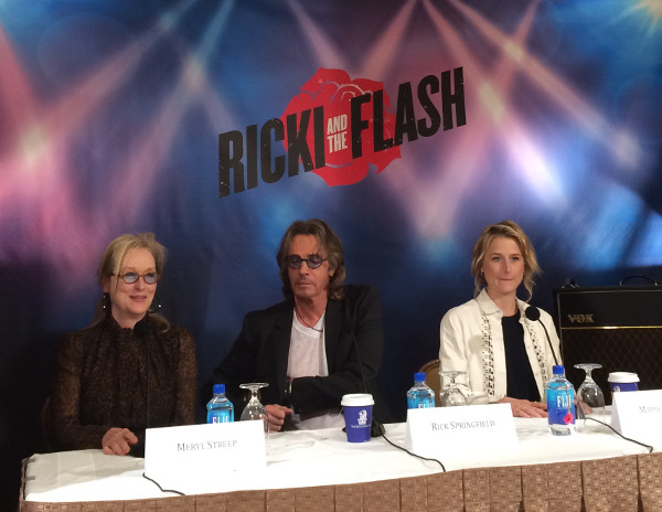 Cast of Ricki and The Flash