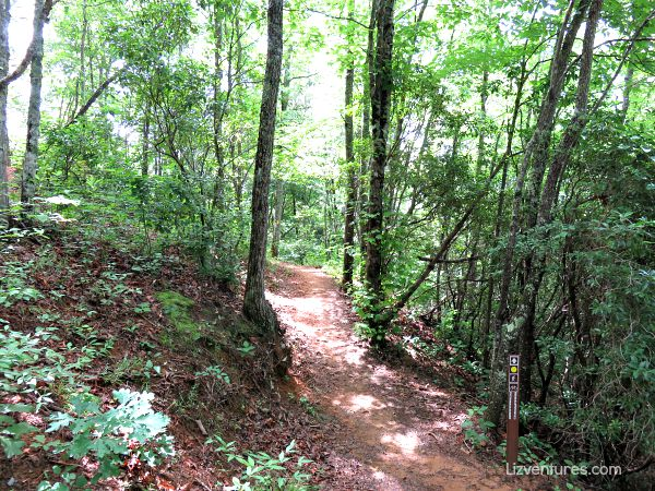 WCU hiking trails - Western North Carolina hiking