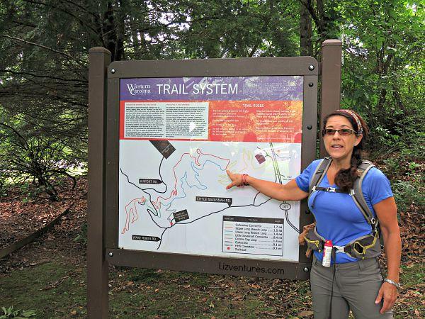 Western Carolina WCU Trail System